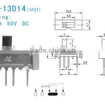 SS-12D14 Slide Switch