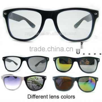 49aa3ffb6ed5 Cheap Promotion frame Sunglasses eyewear Factory Custom Lens fullcolor  rainbow printing logo OEM of Custom glasses from China Suppliers - 109783659