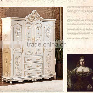 off white wood carving bedroom furniture set luxury bedroom ...