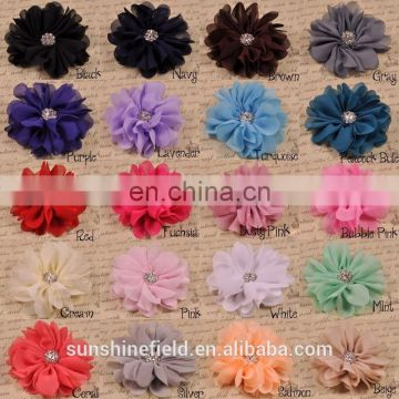 Ballerina Flower, Chiffon Flower, Wholesale Flower, Fabric Flower, Headband Flower, Flower Embellishment, DIY Flower