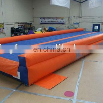 Colorful Inflatable Tumble Track for sports and training