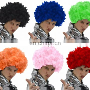 Custom synthetic afro wig With Free Random for football game