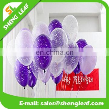 2017 bran-newPrinting latex balloon with little star wholesales latex free balloons