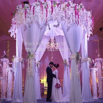 2018 RK hot sale pipe and drape for wedding decoration for sale
