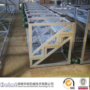 China Factory Aluminum Industrial Portable Stairs