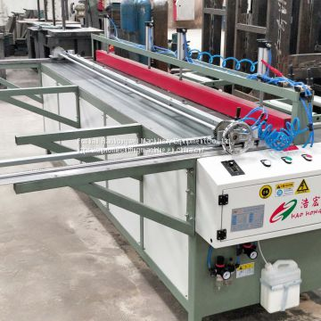 Reciprocating Gusset Saw Honeycomb Panel Gusset Sawing Machine