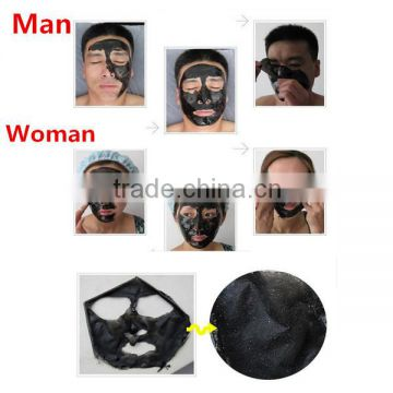 Face skin care PILATEN Deep Cleansing Tearing style Nose Blackhead Removal Black Facial Mask
