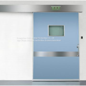 Single Leaf Automatic Sliding Air-Tight Door for Hospital Laminar Air Flow Clean Operating Theatre