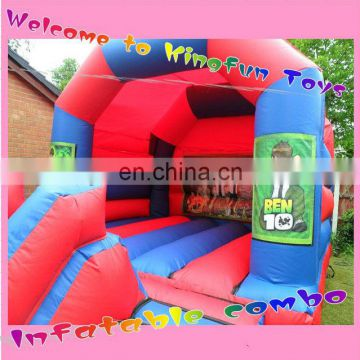 Ben inflatable bounce combi unit