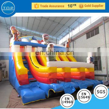 TOP INFLATABLES New design adult inflatable swimming pool 18 ft. american water slide