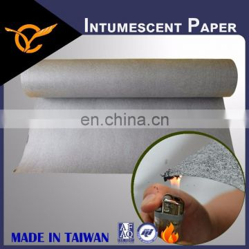Architectural Fire Resistant Thin Thickness Intumescent Paper