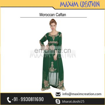 Moroccan Party Wear With Beautiful Design By Maxim Creation