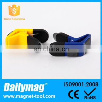 85*30mm Plastic Magnetic Clip for Warehouse and office Assorted color