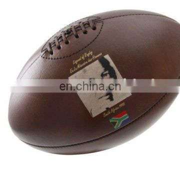 Memorabilia Leather rugby Balls