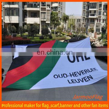 custom polyester big flag