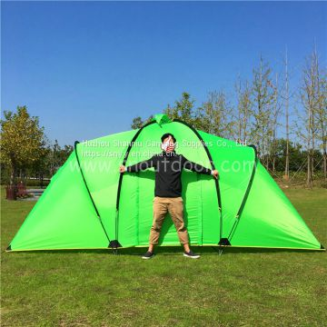 4-6 person double layer 2 room family tent