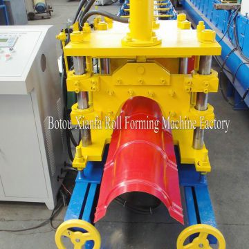 Aluminum Roof Tile Ridge Cap Roll Forming Machine