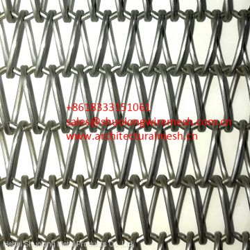 XY-A1283 Copper Decorative Metal Fabric Cladding