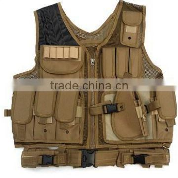 CS combat army military molle police tactical vest