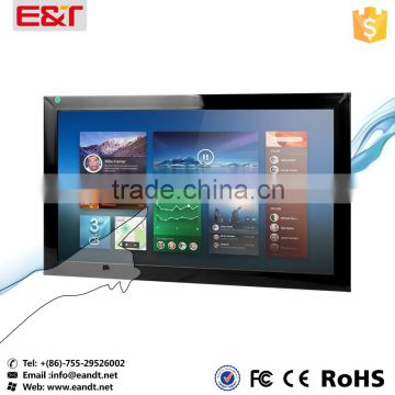 "32"" infrared touch screen frame kit overlay waterproof IR touch sensor for Kiosks/Self-service terminals/ Digital Signage"