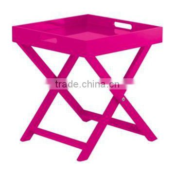 Cheap folding tray table for indoor furniture