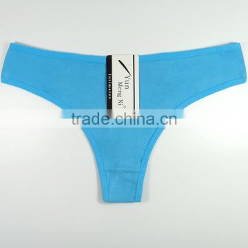 Sexy Hot Teen Underwear Solid Colors T-back Soft Cotton Thongs