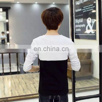 Peijiaxin Pattern Printing Cotton Long Sleeve Custom T shirt Printing
