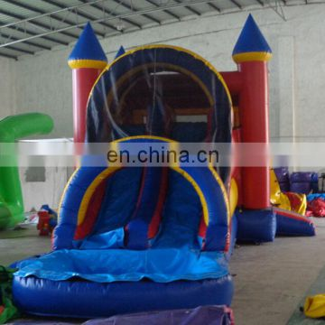 2017 HOT new product Modular 2 Piece Wet/Dry inflatable castle combo