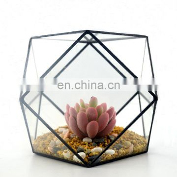 terrarium geometric glass terrarium wholesale square shape