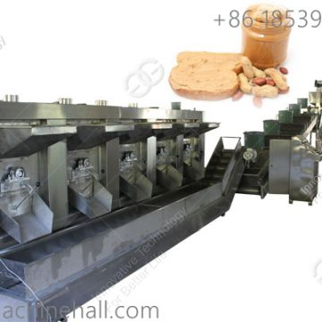Continuous peanut roaster machine for sale peanut roasting machine price