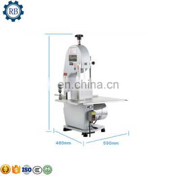 Stainless steel portable band saw for meat and bone cutting machine
