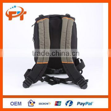 Fashion Canvas waterproof dslr camera bag for canon