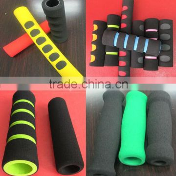 Custom Foam Grips Stroller / Treadmill Handle Foam Grip / Foam Grips For Bikes Bicycle Handle Gym Equipments