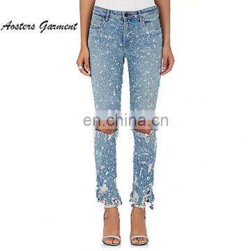 452248cc78030 Women tight ripped sexy new fashion denim jeans slim fit pant wholesale of  Women Jeans from China Suppliers - 158332560