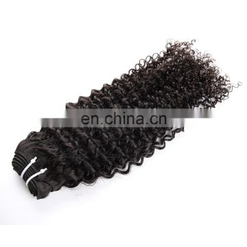 Top Sell Full Cuticle No Shedding Brazilian Kinky Curl Human Hair Extension For Black Women