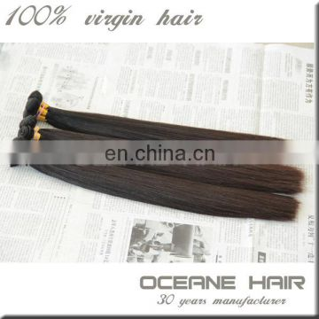 Full cuticle different types natural unprocessed 26 inch indian remy hair extensions