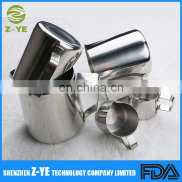 2018 News Essentials Stainless Steel Milk Pitcher, Suitable for Coffee, Latte and Frothing Milk