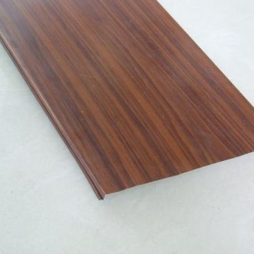 Commercial Summer Original Ecological Wood Grain Wave Type Aluminum Buckle Ceiling