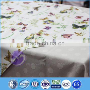 2015 professional design printed square table cloth