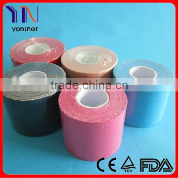 Medical kinesiology tape colorful factoryCE FDA certificated
