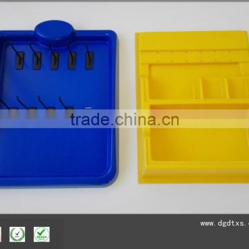 Thick ABS vacuum formed custom plastic tray