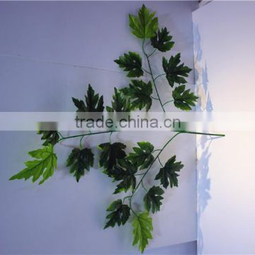 Home and outdoor garden table wedding christmas decoration 60cm or 2ft Height artificial colorfully maple leaf E06 0601