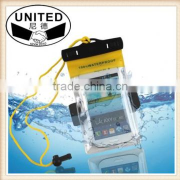 5.7 Inch Waterproof PVC Diving Bag Underwater Pouch Case For galaxy s5 For galaxy note 3 2 s4 fit for s6/s6 edge
