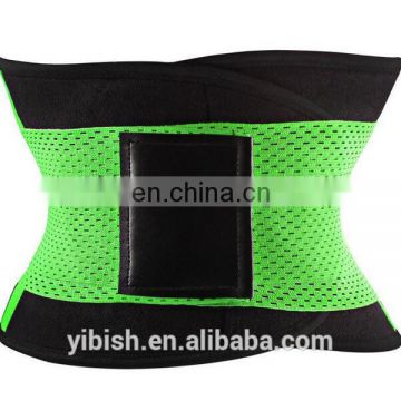 Best price Neoprene Colorful Waist Cincher Gym Belt Back Support Belt#B36