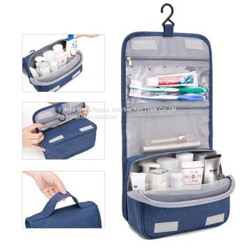 New fashion unisex washable bathroom storage hanging toiletry bag for travel