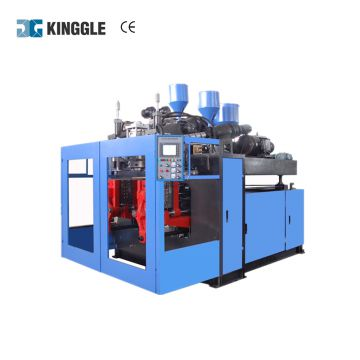 New condition hot on sale automatic plastic toys wheel extrusion blow molding machine