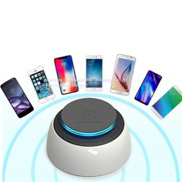 Tenee T-BS01 Wireless Bluetooth  Speaker and wireless charger