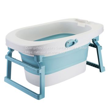 Good quality bathtub plastic  portable   baby kids bathtub with seat