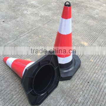 Factory direct sales Red rubber traffic cone