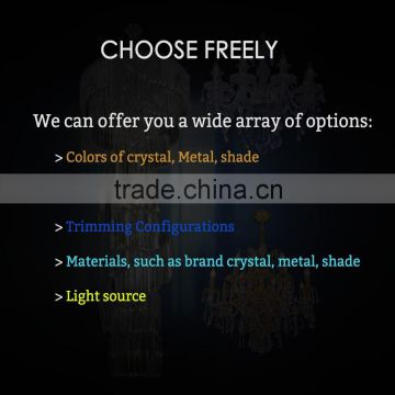 industrial fashionable led table centerpieces energy saving crystal table lamps for bedroom
